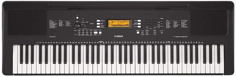 Yamaha PSR-EW300 76-Key Portable Electronic Keyboard