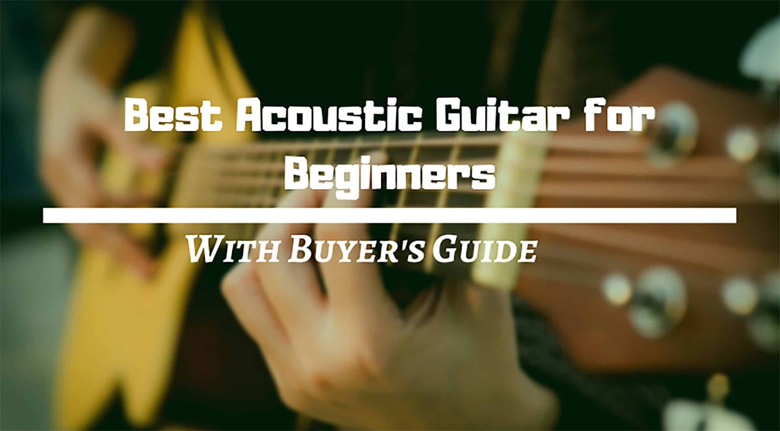 Best Acoustic Guitar for Beginners Review