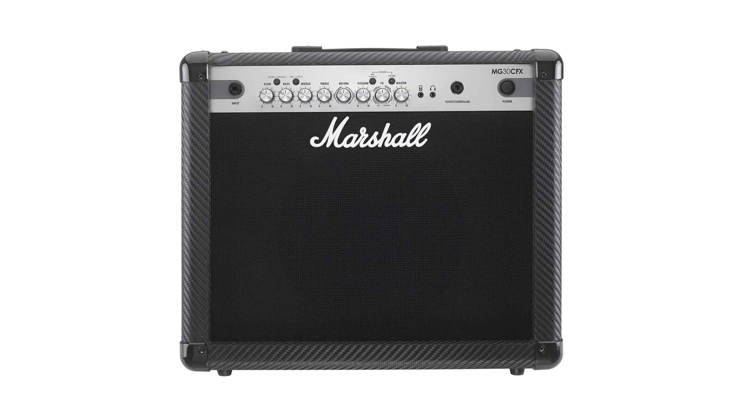 Marshall MG30CFX Guitar Combo Amplifier Review