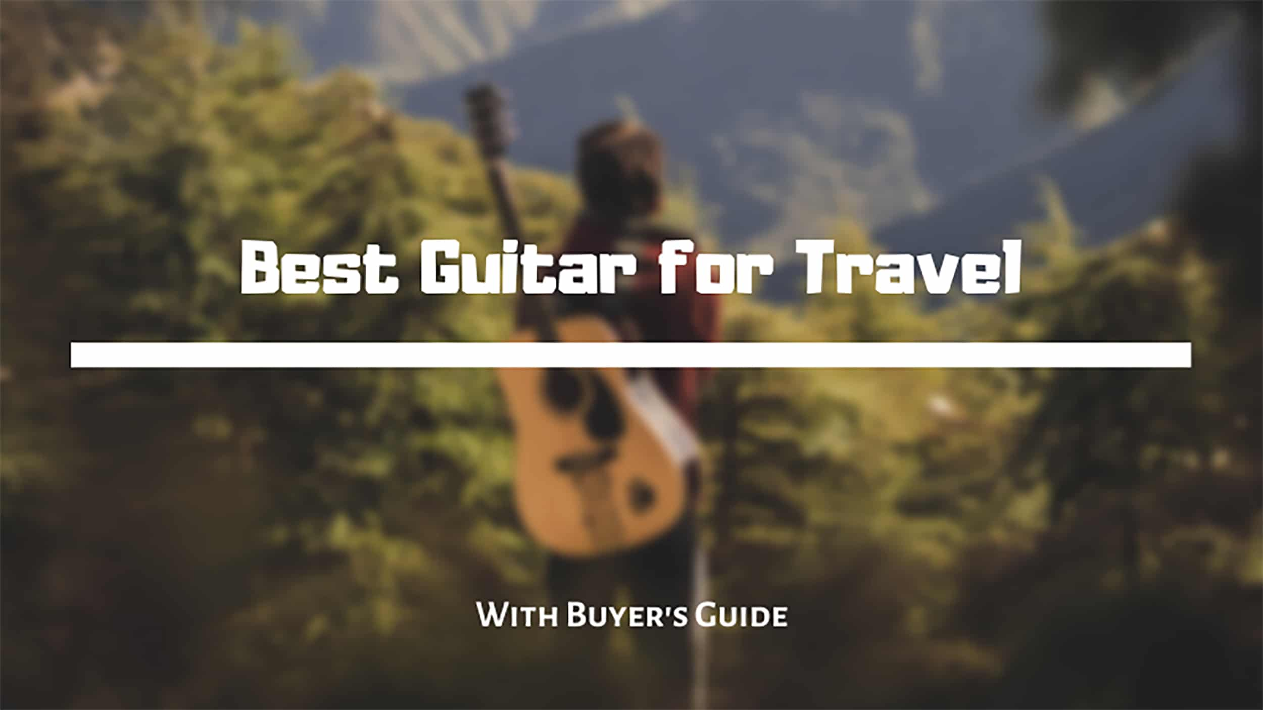 best guitar for travel review